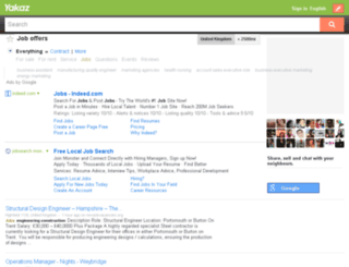 jobs.yakaz.co.uk screenshot