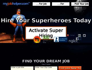 jobs1.myjobhelper.com screenshot