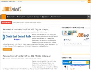 jobsalot.in screenshot
