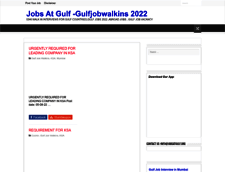 jobsatgulf.org screenshot