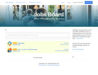jobsboard.neptunescripts.com screenshot