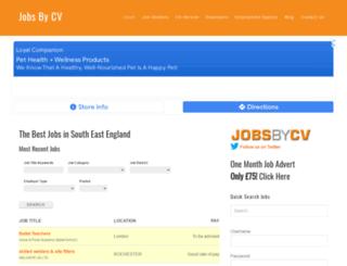 jobsbycv.co.uk screenshot