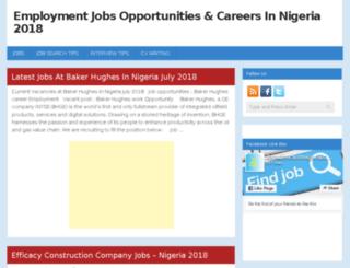 jobsdirectionnigeria.com screenshot