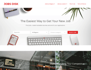 jobsdisk.com screenshot