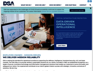 jobsdiva.dsainc.com screenshot