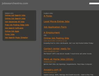jobsearchextra.com screenshot