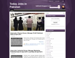 jobsemail.blogspot.com screenshot