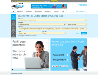 jobserve.com.au screenshot