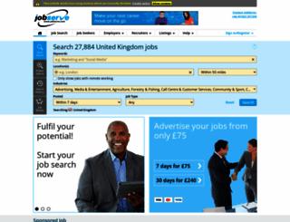 jobserve.com screenshot