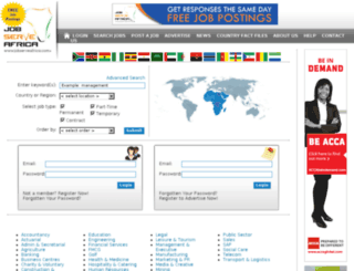 jobserveafrica.com screenshot