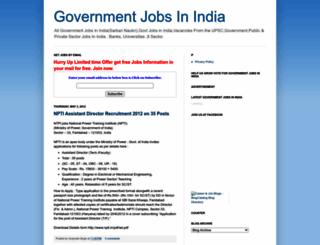 jobsfeed.blogspot.com screenshot