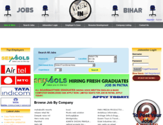 jobsinbihar.org screenshot