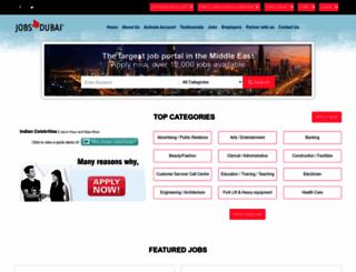 jobsindubai.com screenshot