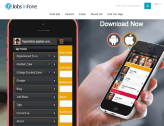 jobsinfone.com screenshot