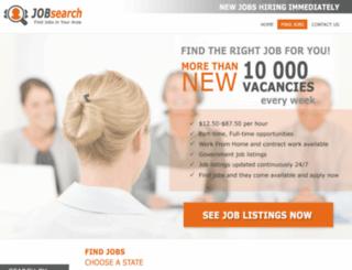 jobsinnorthwestct.jobsearchnt.com screenshot