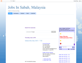 jobsinsabah.blogspot.com screenshot
