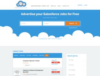 jobsinsalesforce.com screenshot