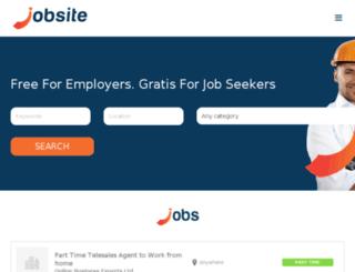 jobsite.mu screenshot