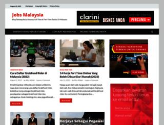 jobsmalaysia.com.my screenshot