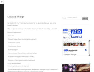 jobsnamibia.com screenshot