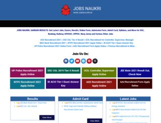 jobsnaukri.in screenshot