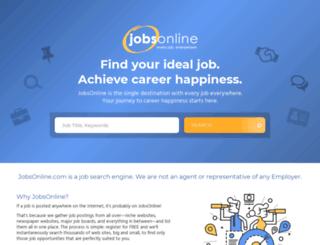 jobsonline.net screenshot