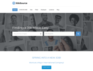 jobsource.com screenshot