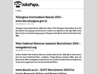 jobspapa.in screenshot