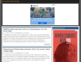 jobsrace.in screenshot
