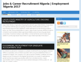 jobsrecruitmentnigeria.com screenshot