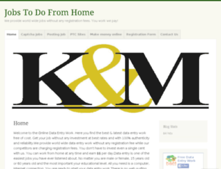 jobstodofromhome.wordpress.com screenshot