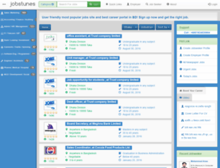 jobstunes.com screenshot
