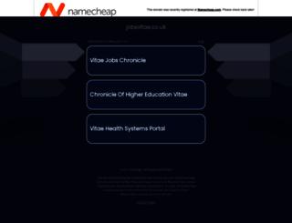 jobsvitae.co.uk screenshot
