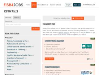 jobswales.co.uk screenshot
