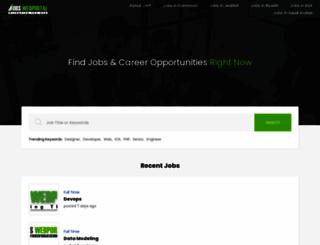 jobswebportal.com screenshot
