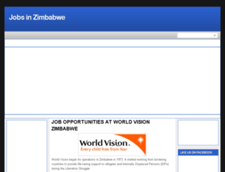 jobszimbabwe.blogspot.com screenshot
