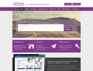 jobteam.co.uk screenshot