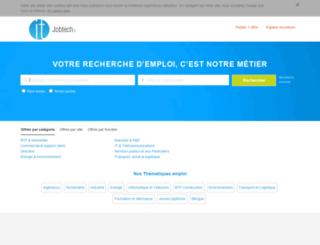 jobtech.fr screenshot