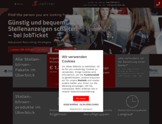 jobticket.de screenshot