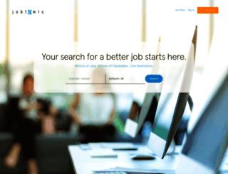 jobtomic.info screenshot