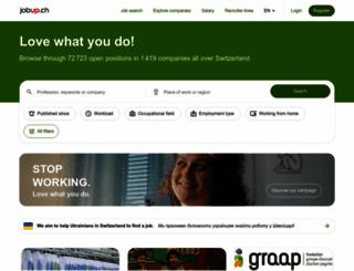 jobup.ch screenshot