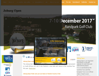 joburgopen.com screenshot