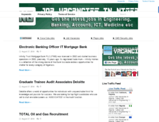 jobvacanciesinng.com screenshot