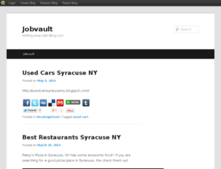jobvault14.blog.com screenshot