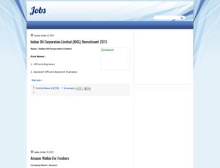 jobvendor.blogspot.in screenshot