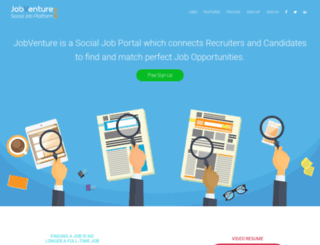 jobventure.com screenshot