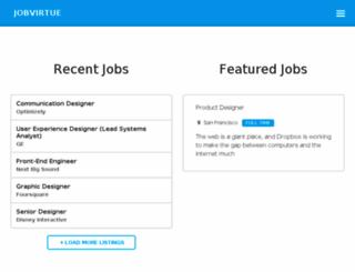 jobvirtue.com screenshot