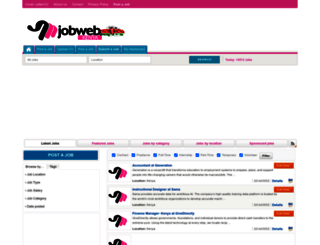 jobwebkenya.com screenshot
