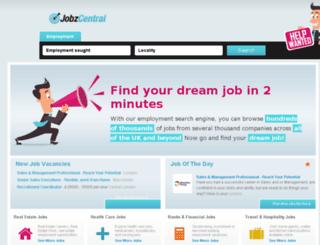 jobzcentral.com screenshot
