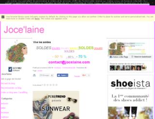 jocelaine.canalblog.com screenshot